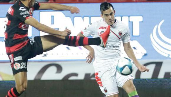 Iván santillán solo jugó tres partidos con Tiburones Rojos de Veracruz. (Foto: Facebook Tiburones Rojos)