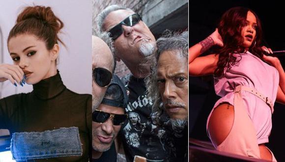 Desde Selena Gómez hasta Metallica estarán en el Global Citizen