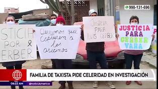 Cieneguilla: Familia de taxista asesinado pide justicia