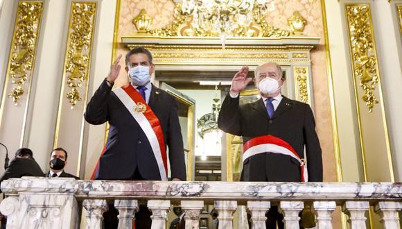 Manuel Merino de Lama completó el Gabinete Ministerial que encabeza Ántero Flores-Aráoz. (Foto: Presidencia)