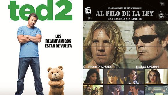 """""""Ted 2"""" y """"Al filo de la ley"""" entre los estrenos de la semana"""