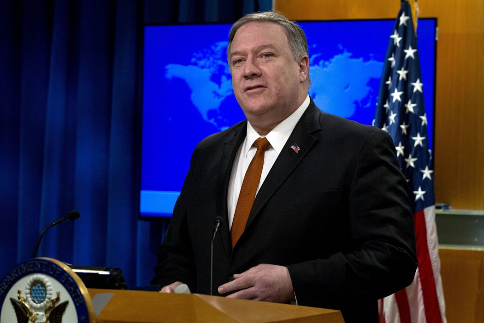 Mike Pompeo, secretario de Estado de Estados Unidos. (AP).