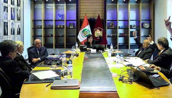 Pleno del TC desestimó por mayoría la demanda de competencia contra la disolución del Congreso (Foto: Difusión)