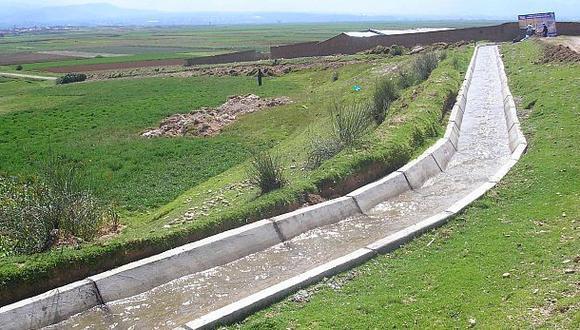 Piura: construirán represa que beneficiará a 2 mil agricultores