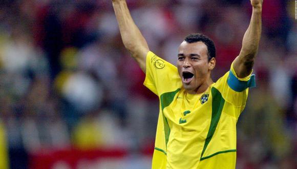 Cafú ganó los mundiales 1994 y 2002 con la selección de Brasil.