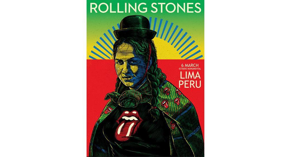 Facebook: Rolling Stones corrige afiche para show en el Perú - 2