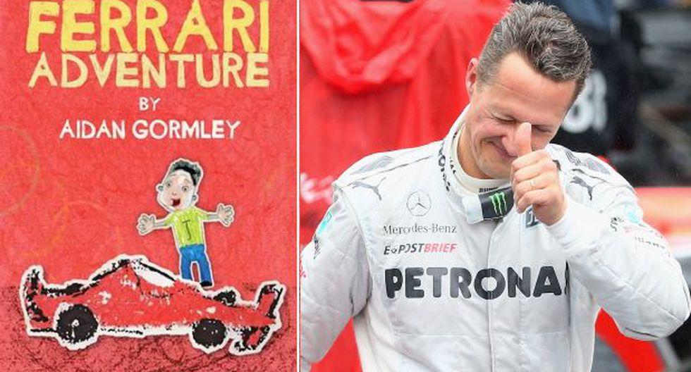 Niño de 9 años escribió conmovedor libro a Michael Schumacher