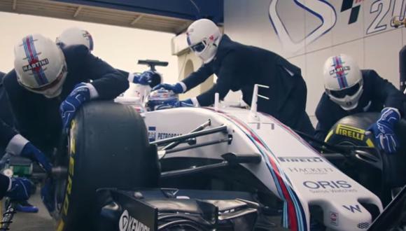 YouTube: Williams demuestra todo su estilo con este video