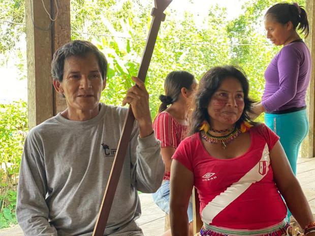 Pueblos indígenas rechazan el proyecto de la carretera Iquitos-Saramiriza. Foto: R. Mondragón/DAR