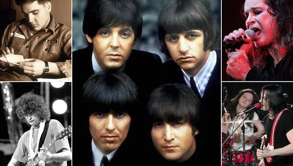 Elvis Presley, Paul McCartney, Led Zeppelin, The White Stripes y Ozzy Osbourne protagonizan algunas de las leyendas urbanas del rock. (Fotos: Agencias)