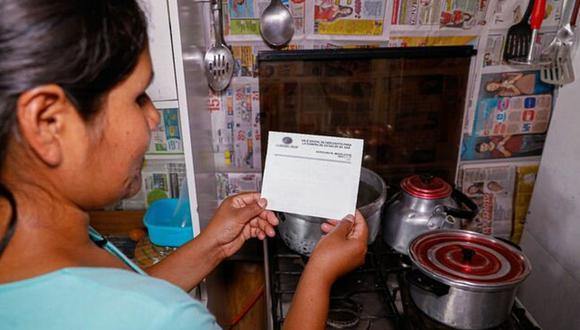 El Ministerio de Energía y Minas dio a conocer los requisitos que necesitan las familias para acceder al bono de 18 soles. (Foto: Minem)