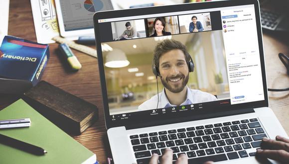 La Universidad de Stanford realizó un estudio donde identificó la 'fatiga de Zoom', como se le llama al estrés adicional que generan las videoconferencias. (Foto: Zoom)