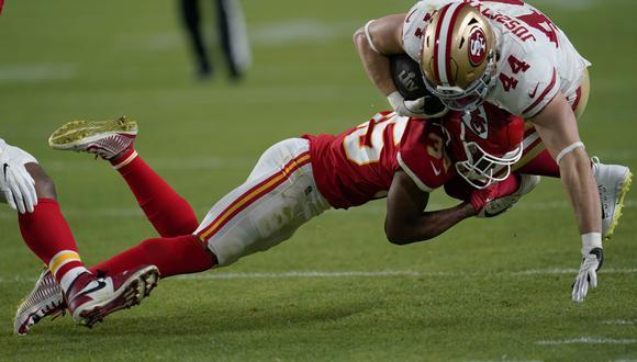 Los Kansas City Chiefs logró el título de la NFL después de 50 años al vencer el domingo a los San Francisco 49ers en Miami. (Foto: AP).
