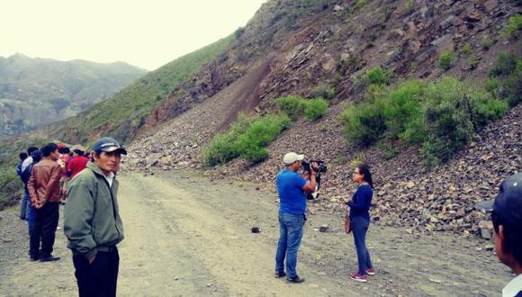 El COER Áncash ha informado que Provías Nacional ya tomó conocimiento del hecho y coordina las acciones para iniciar las labores de rehabilitación del tránsito (Foto: Julio Villanueva)