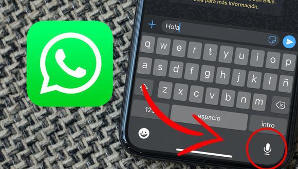 ¿No quieres escribir tu mensaje en WhatsApp? Así lo puedes transcribir. (Foto: MAG)
