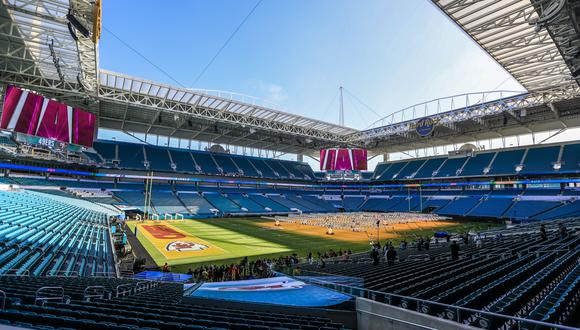 El Hard Rock Stadium en Miami Gardens recibirá la edición 54 del Super Bowl. (Foto: EFE)
