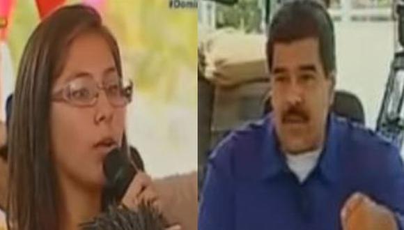 Joven exige mejoras en su colegio en programa semanal de Maduro
