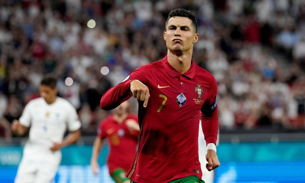1. Cristiano Ronaldo (Portugal): 5 goles