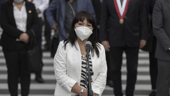 Mirtha Vásquez asumió la presidencia del Congreso en noviembre pasado.