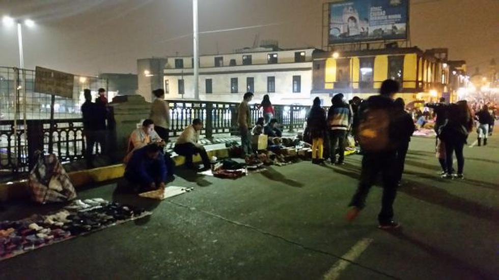 Cercado: denuncian aumento de ambulantes en Puente Trujillo - 2