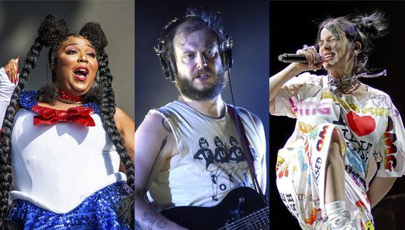 Lizzo, Bon Iver y Billie Eilish podrían coronarse ganadores en las categorías principales de los Grammy 2020. (Foto: Agencia/Difusión)