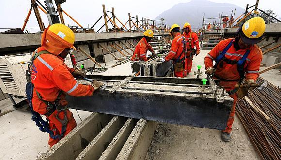 El sector construcción creció 4,53% en agosto, debido al incremento del consumo interno de cemento (7,46%) y ante la continuidad de obras privadas.