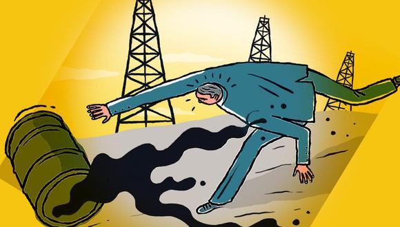 La cotización del barril de petróleo empezó a moverse en terreno negativo y no aparentaba revertir su tendencia.