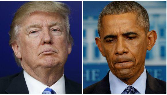 Trump culpa a Obama de ataque químico en Siria