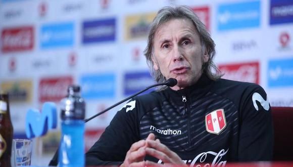 Ricardo Gareca comentó  convocatoria de  Gianluca Lapadula (@selecciónPeru)