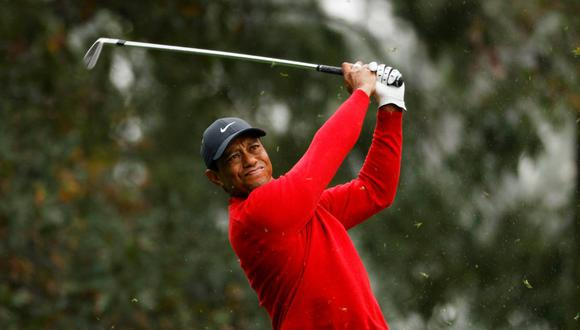 Tiger Woods se sintió conmovido por los gestos de apoyo de sus compañeros de golf. (Foto: Reuters)