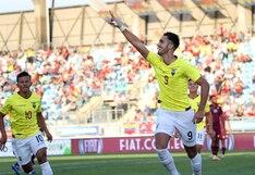 Ecuador venció 3-0 a Venezuela con actuación estelar de Leonardo Campana y clasificó al Mundial Sub 20
