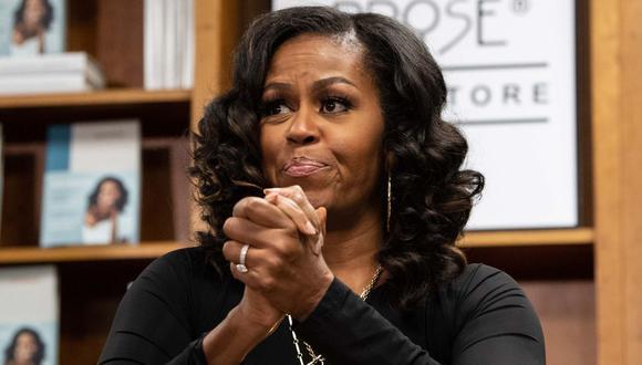 Netflix lanza documental sobre gira de Michelle Obama para presentar sus memorias. (Foto: AFP)