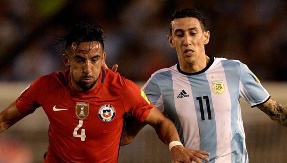 Argentina recibe a Chile este jueves 03 de junio por la fecha 7 de las Eliminatorias. (Foto: AFP)