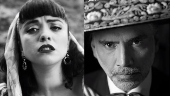Mon Laferte y Alejandro Fernández unieron sus voces para dueto musical. (Foto: Captura YouTube)