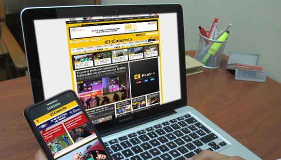 El Comercio sigue batiendo récords en Internet