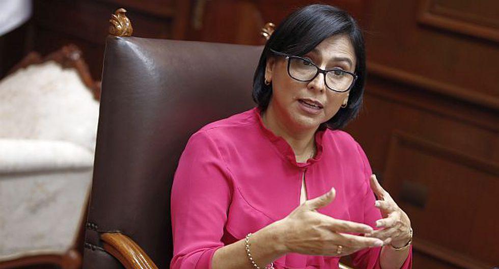 Sylvia Cáceres, ministra de Trabajo y Promoción del Empleo.(Foto: GEC)