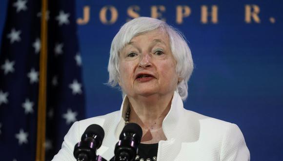 Janet Yellen, nominada del presidente electo de Estados Unidos, Joe Biden, para ser secretaria del Tesoro. (REUTERS / Leah Millis).