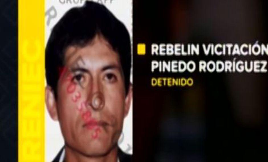 Padre Rebelin Vicitación Pinedo Rodríguez confesó que mató a palos a su hija de 17 años (Captura: RPP Noticias)
