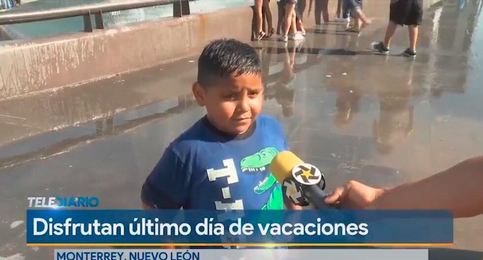 """Niño que soñaba con """"jugar con castillos de arena"""" cumplirá su deseo de ir playa gracias a varias empresa de México. (Facebook / Telediario)"""