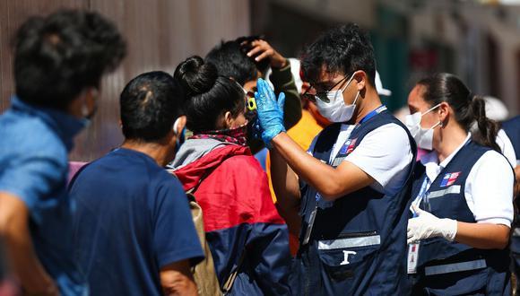 El Ministro de Salud, Jaime Mañalich, anunció la cuarentena total en siete comunas de la Región Metropolitana (Foto: AFP)
