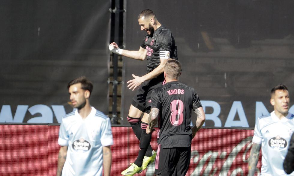 Real Madrid y Celta de Vigo se enfrentaron en la fecha 28 de LaLiga | Foto: AP