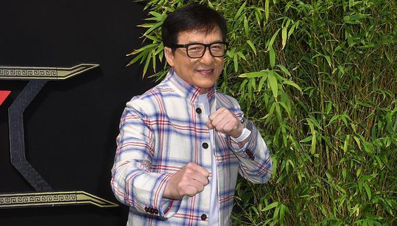 """Jackie Chan: """"Quiero contribuir al mundo más allá de los filmes"""". (Foto:FREDERIC J. BROWN/AFP)"""