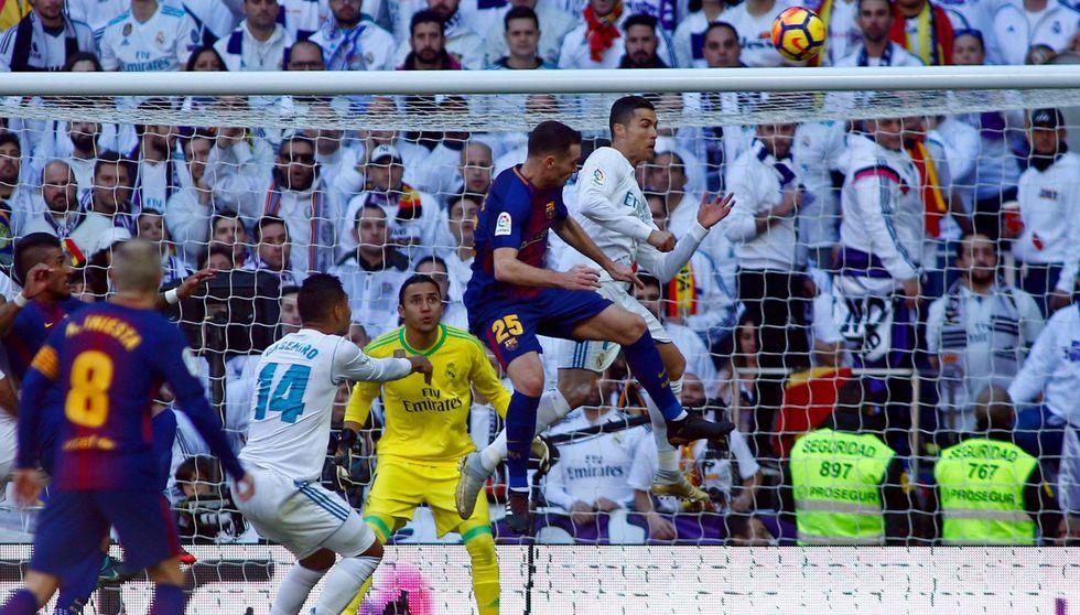 Barcelona ganó 3-0 al Real Madrid en el Santiago Bernabéu: las mejores postales del encuentro. (Foto: AFP)