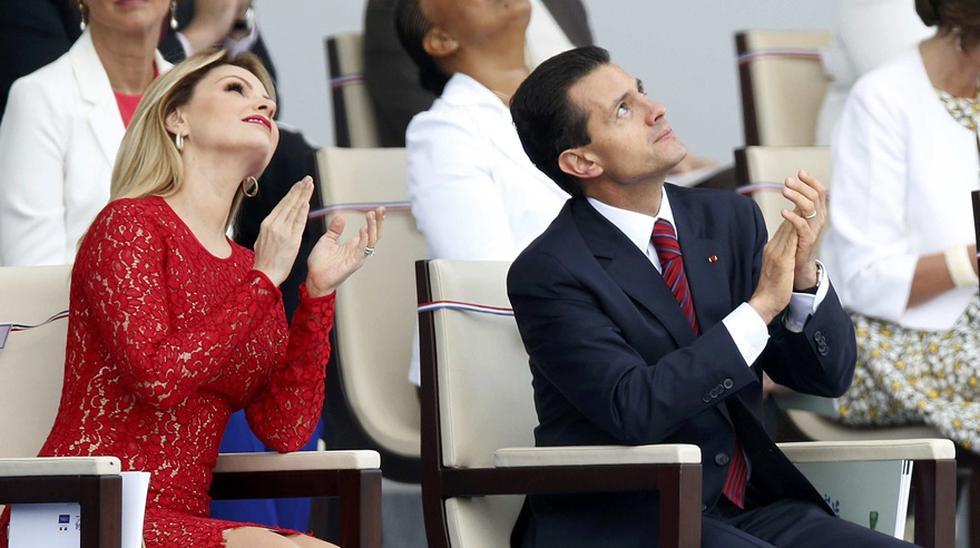 """""""Hoy ha concluido legalmente nuestro matrimonio, deseo que le vaya bien siempre y que tenga éxito en todo lo que emprenda"""", escribió Peña Nieto en un texto publicado en su cuenta de Instagram."""
