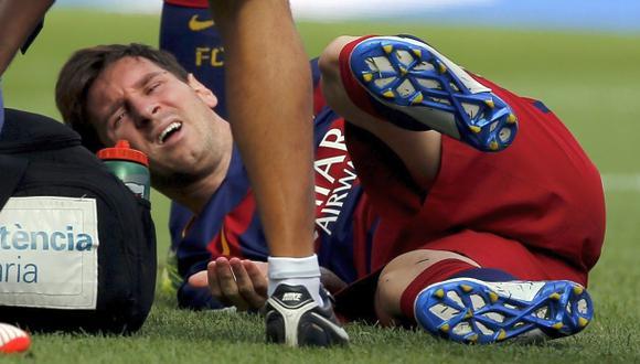 Martino lamentó la lesión de Lionel Messi con estas palabras