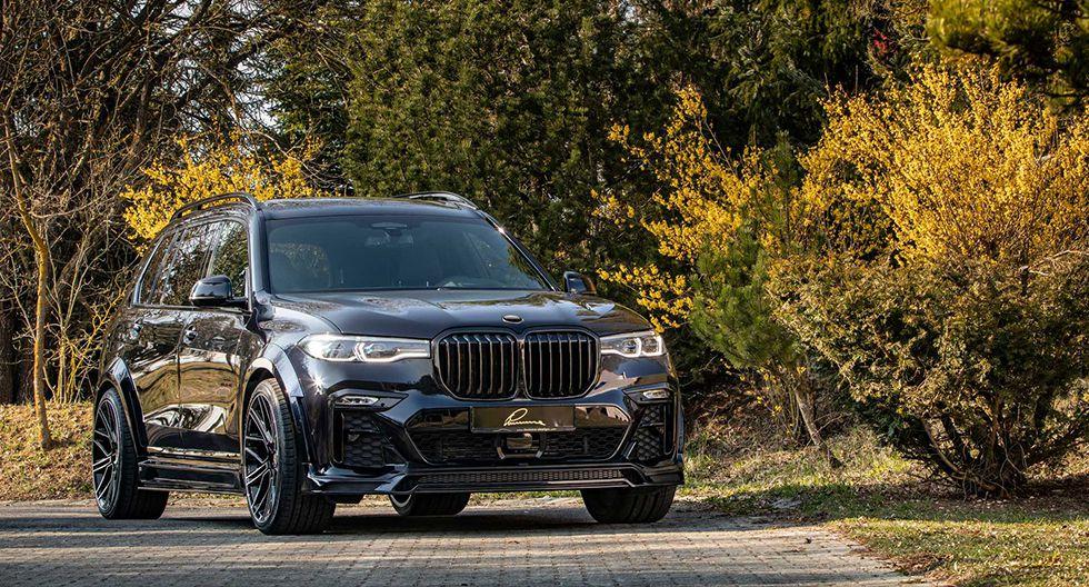 El preparador alemán ofrece un paquete de personalización para el BMW X7 con un precio base de US$ 18 mil. (Fotos: Luma Design).