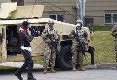 EE.UU. despliega 500 soldados en Minnesota ante protestas y el desenlace de juicio por Floyd
