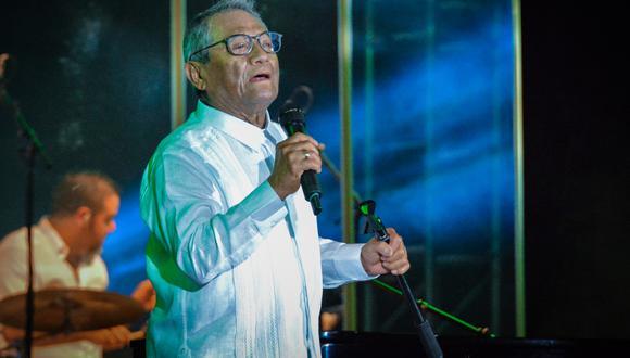 El cantante mexicano Armando Manzanero falleció la madrugada de lunes a los 85 años. (Foto: JORGE BELTRAN / AFP)