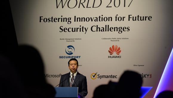 Meng Hongwei, expresidente de la Interpol. (Foto: AFP)