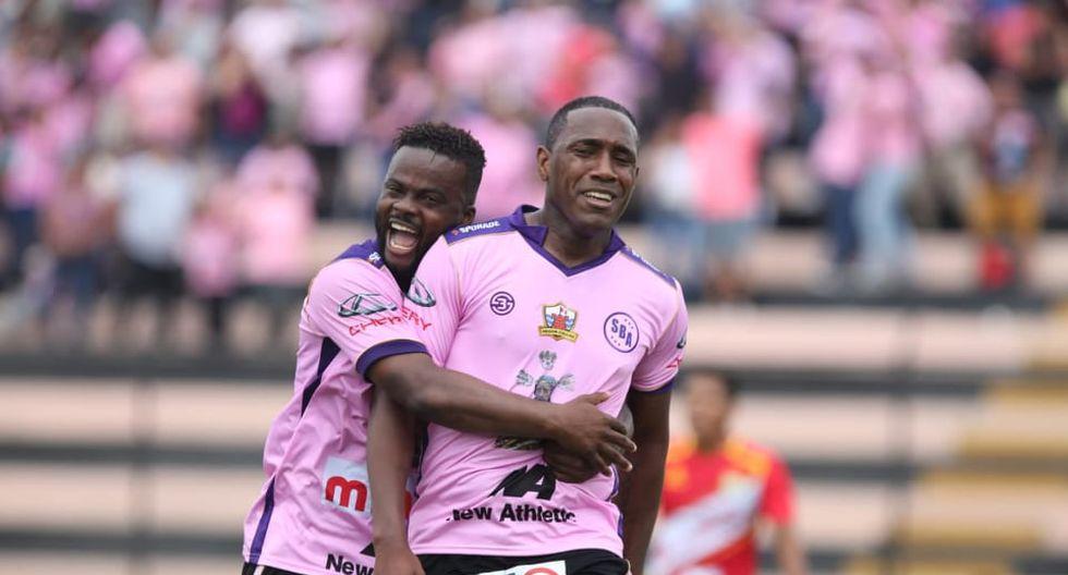 Dos goles de Luis Tejada fueron más que suficiente para que Sport Boys se imponga ante Sport Huancayo. (Foto: Violeta Ayasta)